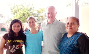 Rod & Terri Kaasa with their student Kassandra and her mother.